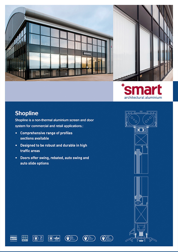DATA SHEET Shopline - Smart aluminium